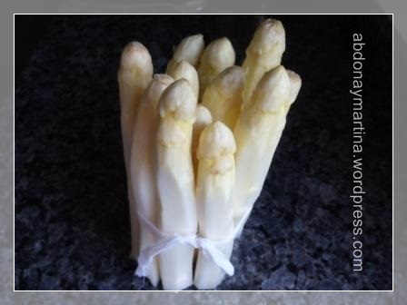 Espárragos blancos