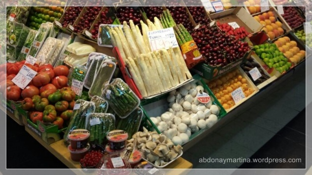 La fruteria Torijano Varas - Mercado Vallehermoso