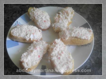 ensaladilla de palitos de cangrejo