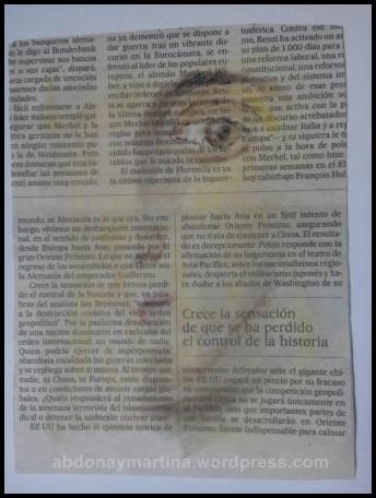 retratos en papel de periodico