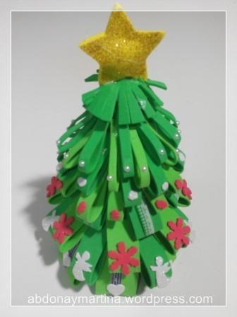 árbol de Navidad de gomaeva